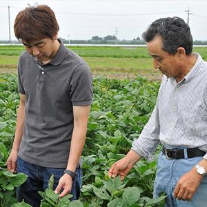 農家さんとスタッフ