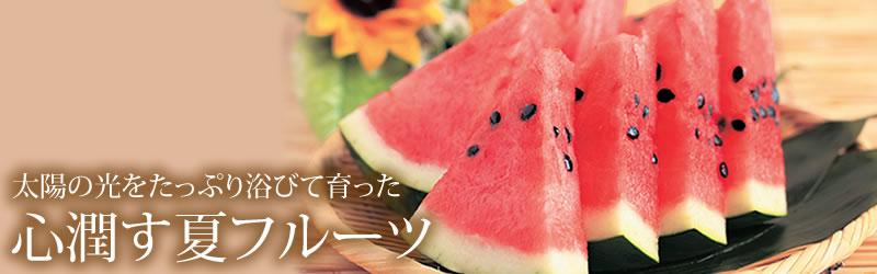 心潤す夏フルーツ